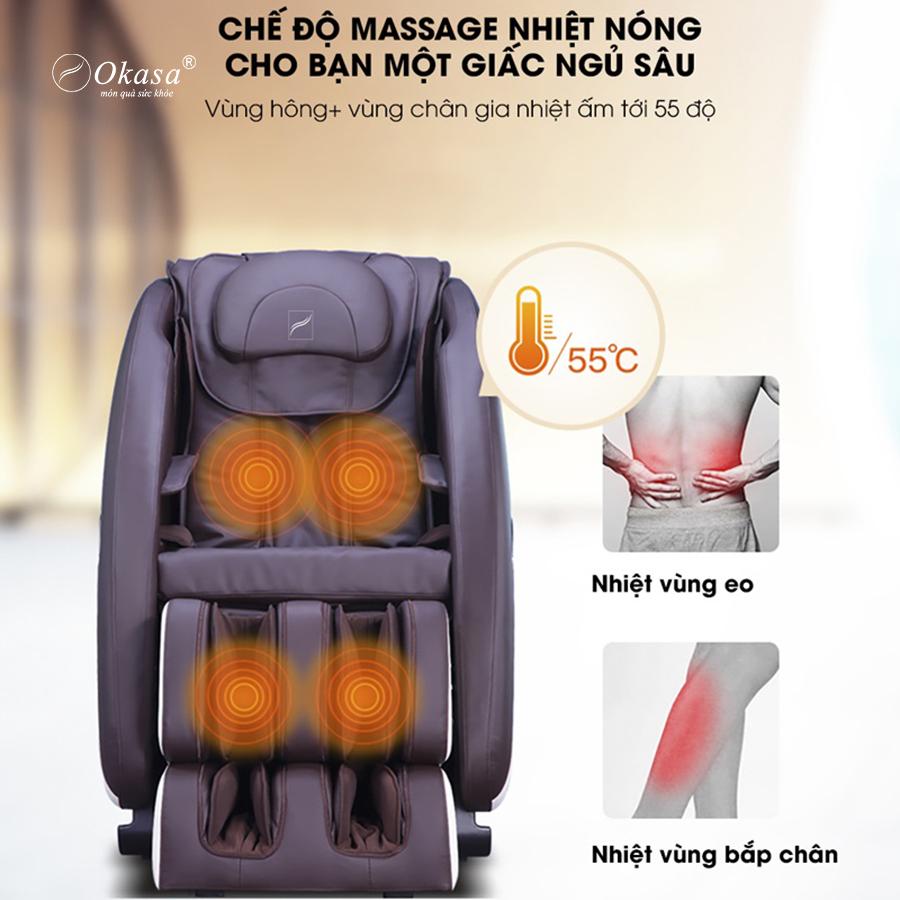 Ghế Massage Hồng Ngoại Là Gì Và Tác Dụng.