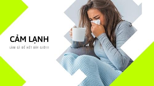 Biện pháp trị cảm lạnh an toàn không nên bỏ qua?