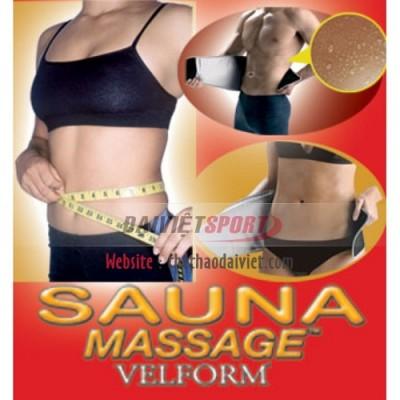 Đai Massage Sauna Velform