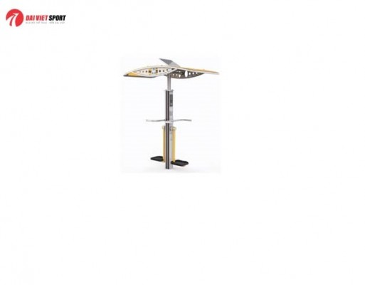 Máy tập lắc eo đôi có mái che DV-4051