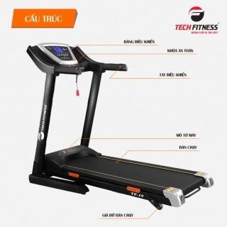 Máy chạy bộ gia đình Tech Fitness TF-19