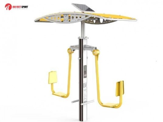 Máy luyện tập đạp chân có mái che DV-4012