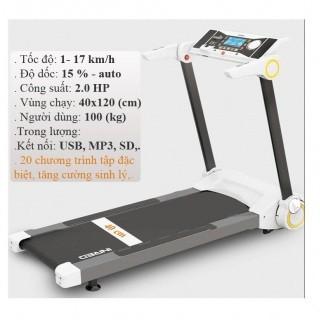 Máy tập chạy bộ điện BK52 (Smart Treadmill BK - 52)