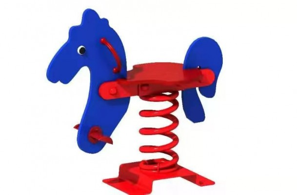 Thú nhún lò xo cho bé hình ngựa