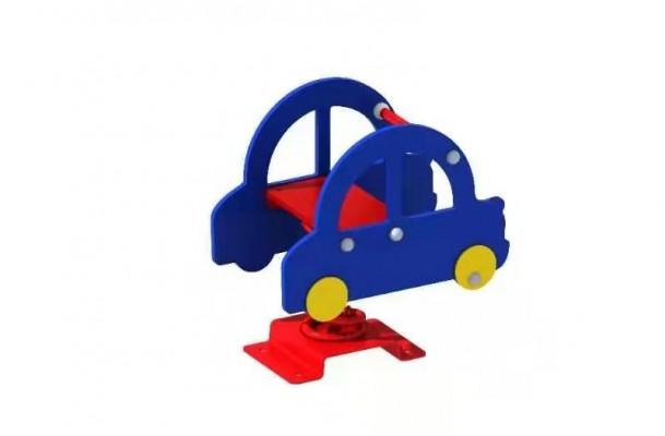 Thú nhún lò xo cho bé hình ô tô