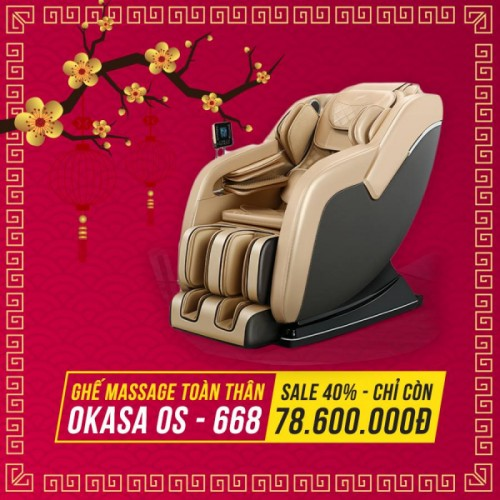 Ghế massage Okasa OS-668
