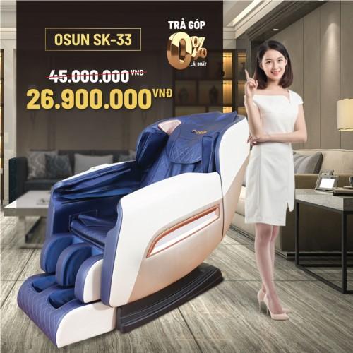 Ghế Massage Toàn Thân Giá Rẻ Osun SK33