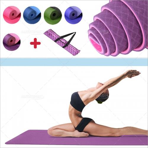 Thảm yoga Đài Loan 2 mặt cao cấp