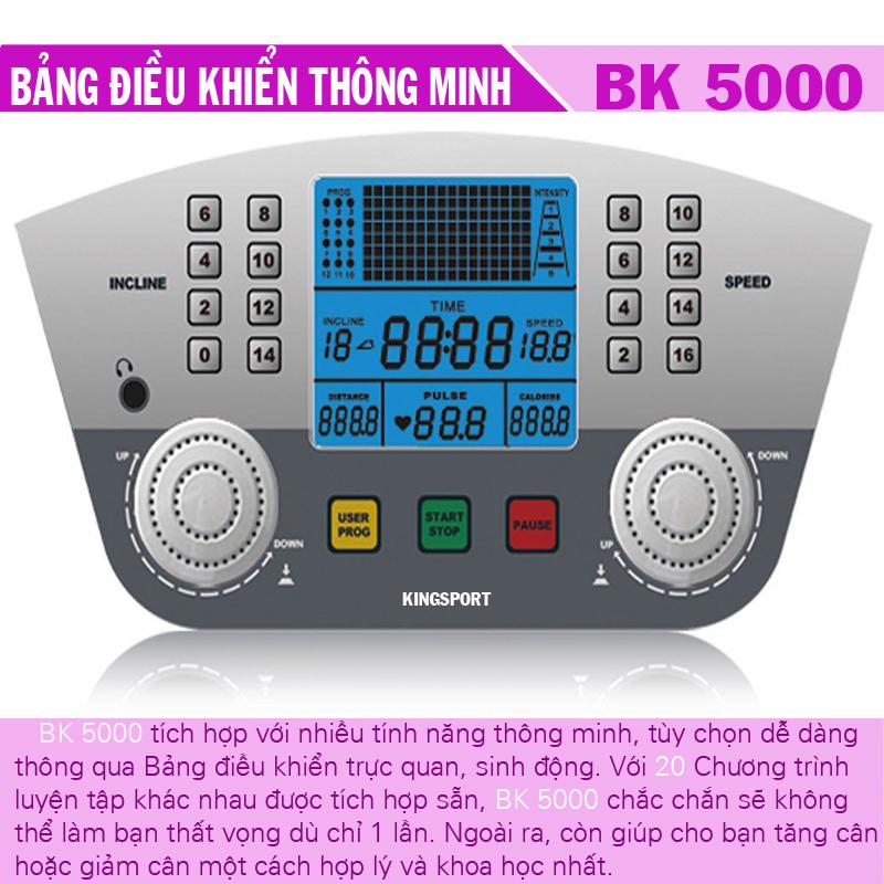 Tác dụng của máy chạy bộ điện BK5000