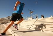 Giảm cân với chạy bộ trên cầu thang