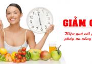 Nên ăn vào giờ nào để giảm cân hiệu quả