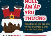 DAIVIETSPORT khuyến mãi mừng Giáng sinh 2015