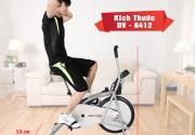 Xe đạp tập thể dục nào giúp giảm cân hiệu quả.