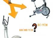 Nên mua xe đạp tập có yên hay không yên?
