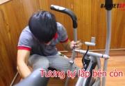 Cách lắp đặt xe đạp tập tại nhà