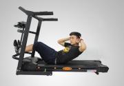 Tập cơ bụng trên máy đi bộ đa năng như thế nào ?