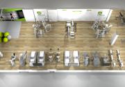 Tư vấn và thiết kế phòng tập gym 200 triệu