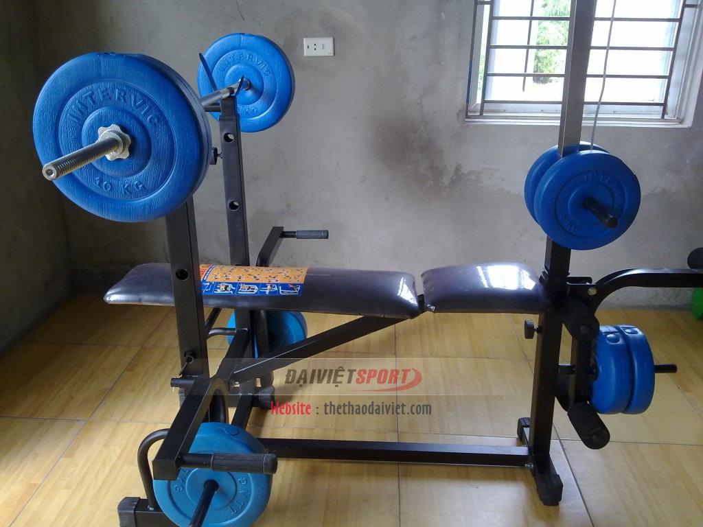 Thể thao Đại Việt chuyên cung cấp Giàn tạ đa năng Xuki có xô chính hãng, giá rẻ