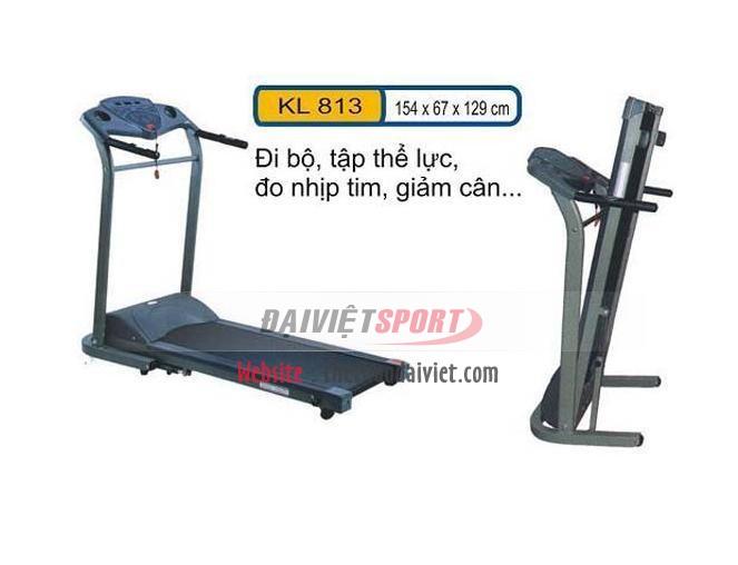 Máy tập chạy bộ điện KL 813
