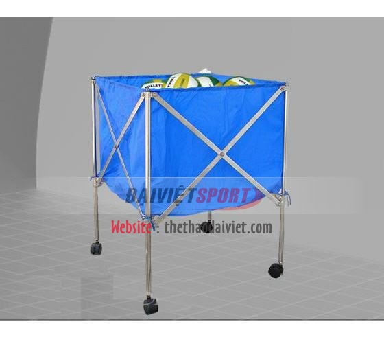 Xe đựng bóng inox đơn S1598