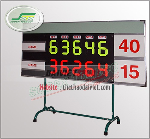 Bảng điểm tennis T370