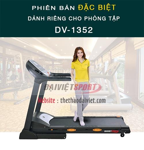 Máy chạy bộ điện đơn năng Đại Việt DV-1352