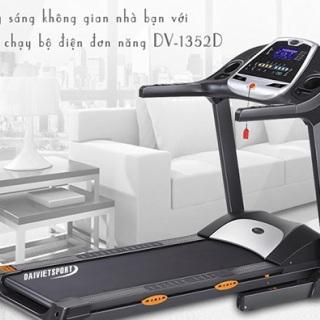 Máy chạy bộ điện Đại Việt DV-1352D
