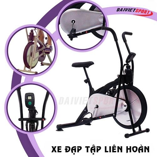 Xe đạp tập thể dục liên hoàn