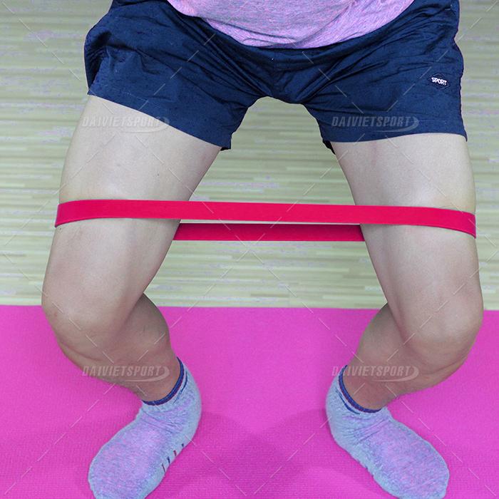 Dây đàn hồi tập mông chân 10-25LB
