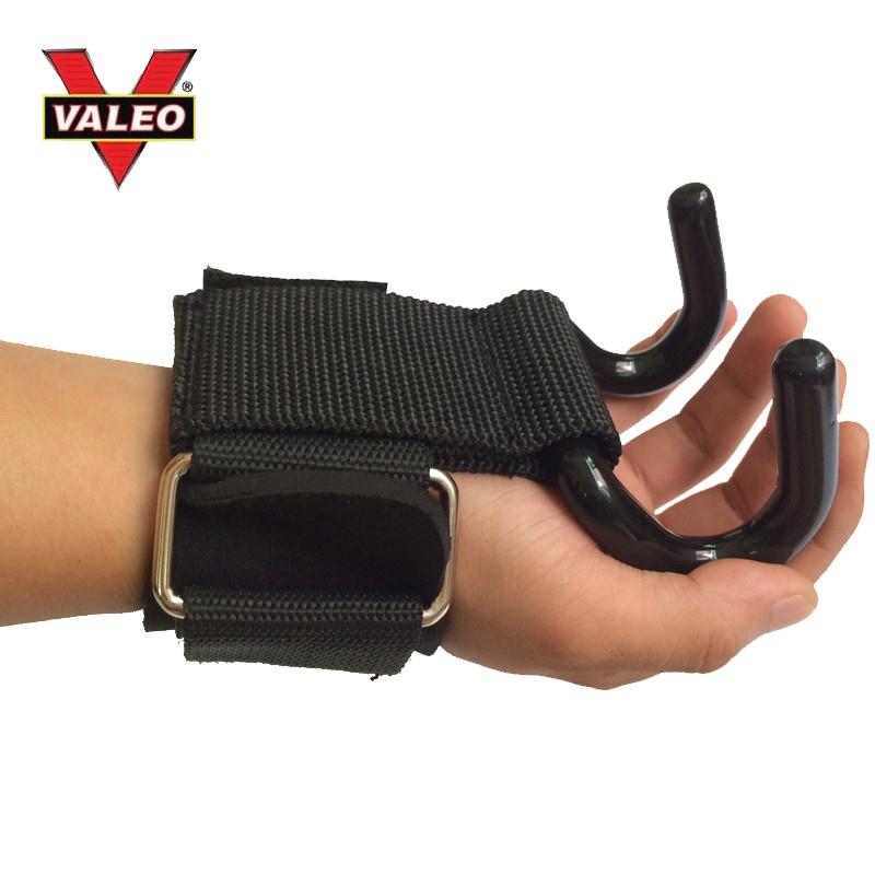 Dây cuốn cổ tay có móc nâng tạ Valeo