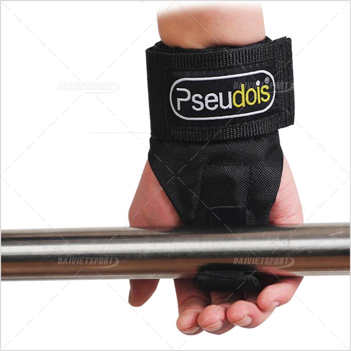 Quấn cổ tay có móc nâng tạ Pseudois PS-002