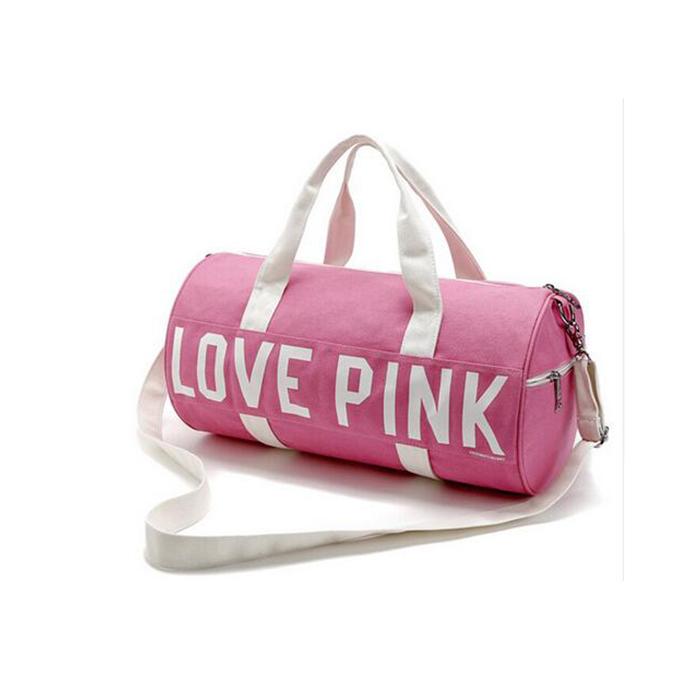 Túi trống thể thao du lịch Love Pink