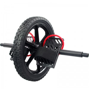 Con lăn tập bụng có dây kéo Power Wheel