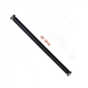 Xà đơn gắn cửa thế hệ mới KT màu đen 1-1,5m