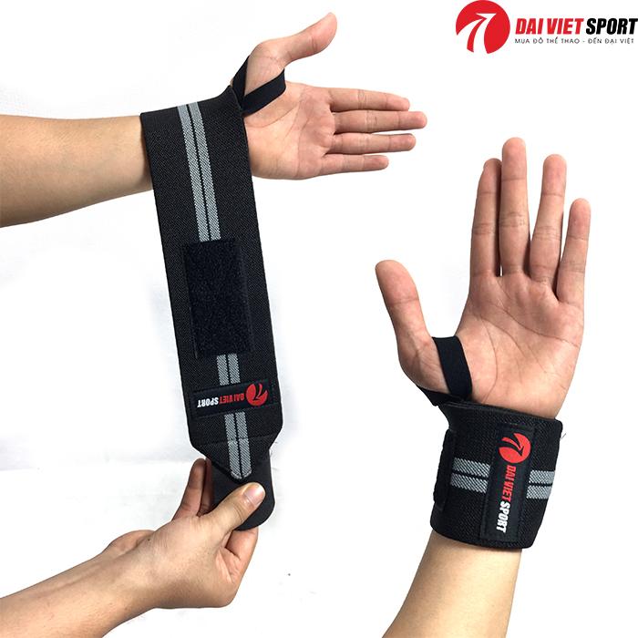 Quấn bảo vệ cổ tay tập gym Đại Việt QT032
