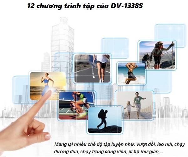 12 chương trình tập của DV-1338S
