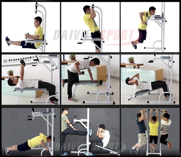 Bài tập Xà đơn đa năng Hanwei 882