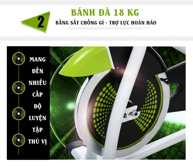 Bánh đà Xe đạp thể thao Đại Việt DV-6413