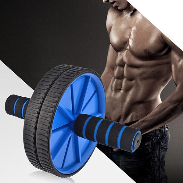 Kết quả hình ảnh cho Con lăn tập cơ bụng AB Wheel