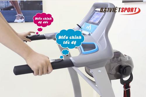 Điều chỉnh độ dốc trên máy chạy bộ thế nào cho phù hợp