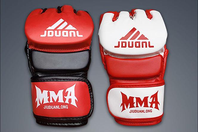 Găng đấm Muay Thai MMA JDUANL 2