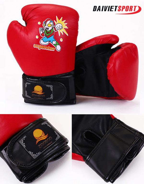 Găng tay boxing trẻ em Zooboo