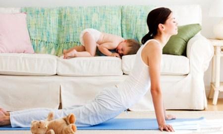 Giảm cân hiệu quả sau sinh