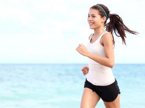 Giảm cân nhờ tập luyện thể dục hàng ngày