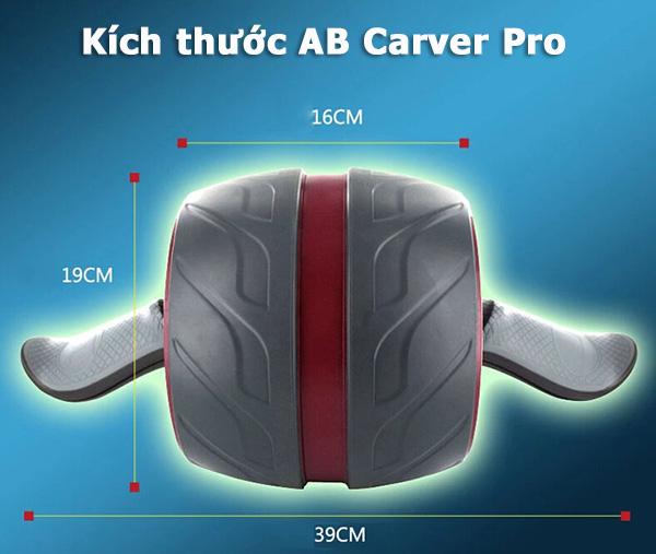 Kích thước Con lăn tập bụng AB Carver Pro