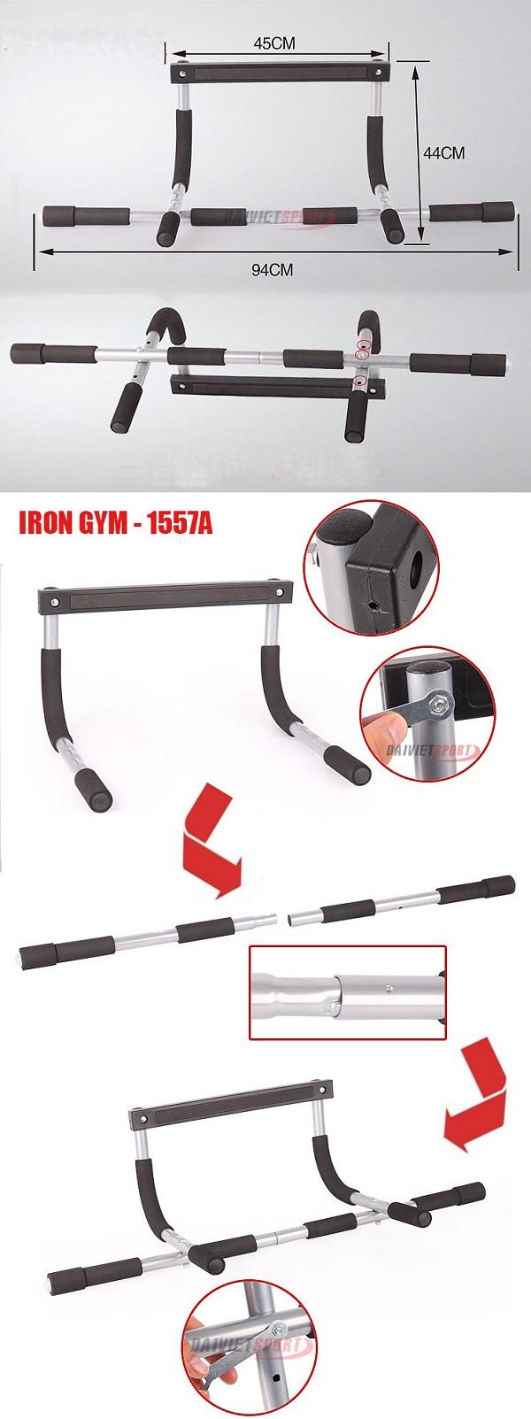 Lắp ráp IRON GYM - 1557A