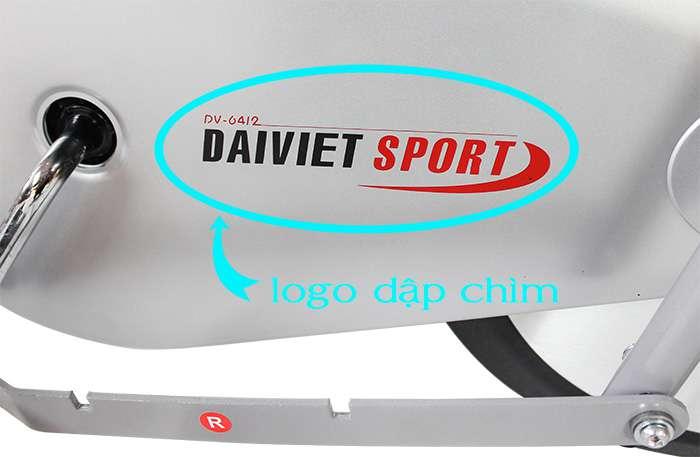 logo dập chìm của ĐẠI VIỆT SPORT