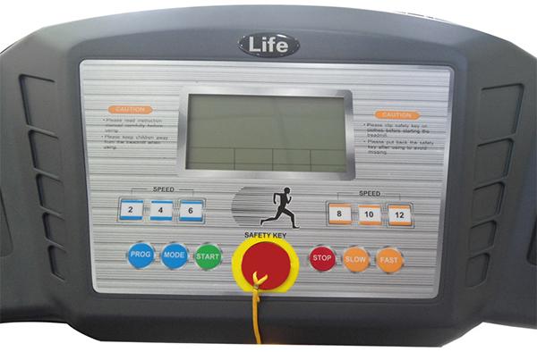 màn hình Máy chạy bộ điện đa năng life-9614 4