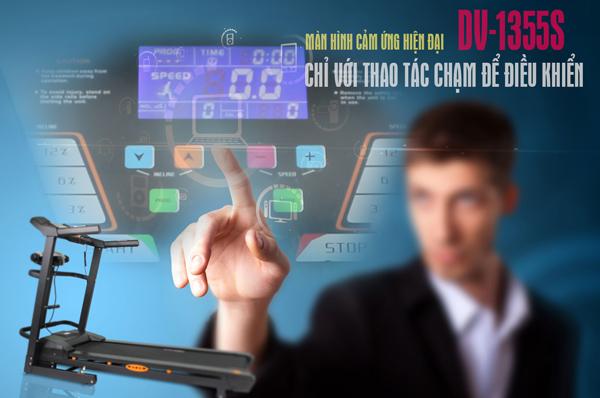 Màn hình máy chạy bộ điện Đại Việt DV-1355S