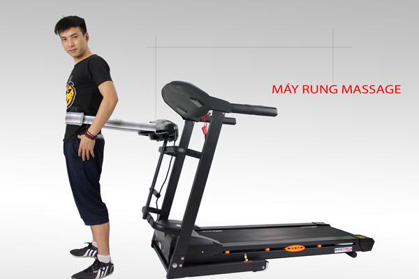 massage với máy chạy bộ điện Đại Việt DV-1355